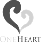 One Heart Logo in Footer